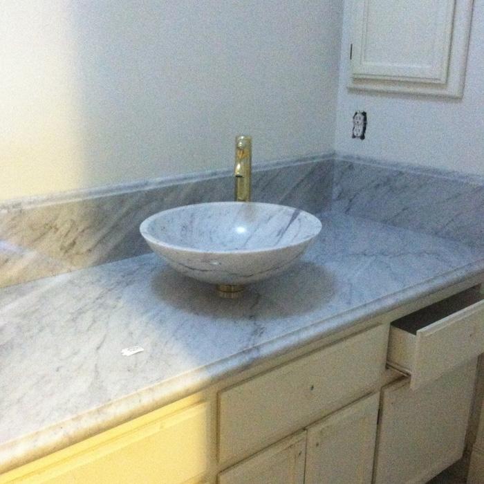 Bathroom Remodel Vessel Sink