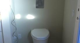 Bathroom Remodel Flush Valve Inwall