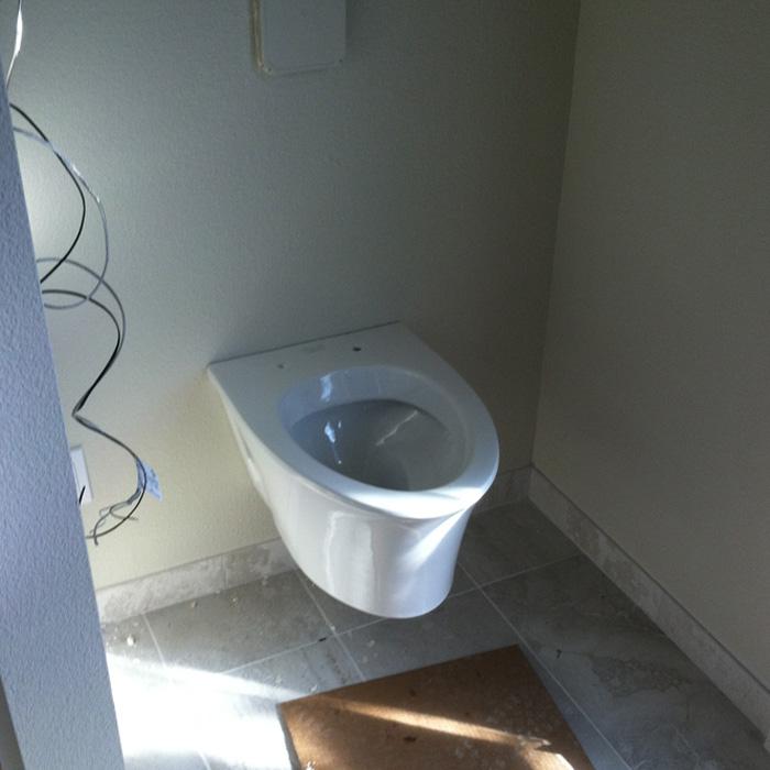 Bathroom Remodel Toilet