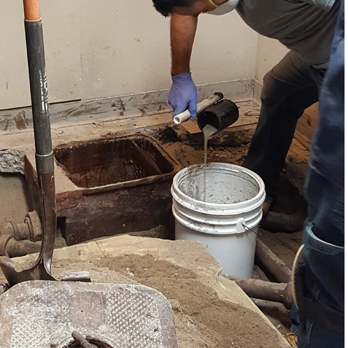 Clean Out Grease Trap