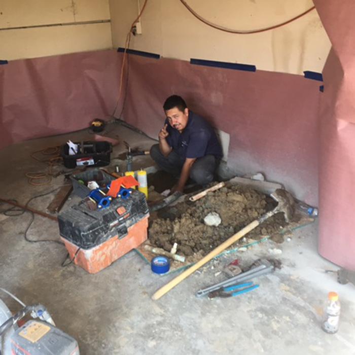 Service Work Underground